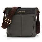 包包前/後置磁扣式收納袋 內部插袋*3/筆袋*2/拉鍊內袋 3C用品緩衝墊夾層 精緻的裝飾縫線與鉚釘