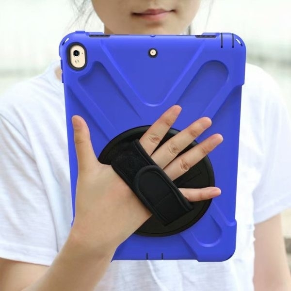 蘋果 iPad Air3 10.5 iPad 10.2 平板保護套 海盜王 背帶 手帶 平板套 防水 防摔 防撞 支架