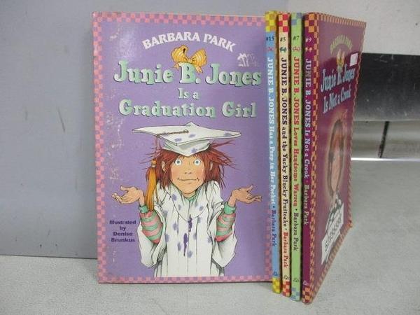 【書寶二手書T5/原文小說_FU7】Junie B. Jones is Not a Crook等_共5本合售