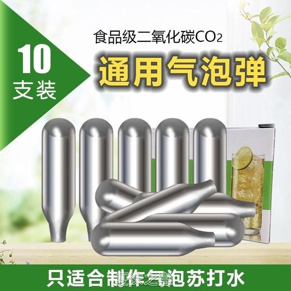 通用氣泡水機蘇打水機小氣瓶食品級二氧化碳CO2氣泡彈一次性氣蛋 現貨快出