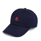 FIND 韓國品牌棒球帽 男女情侶 時尚街頭潮流 玫瑰花刺繡 帽子 太陽帽 鴨舌