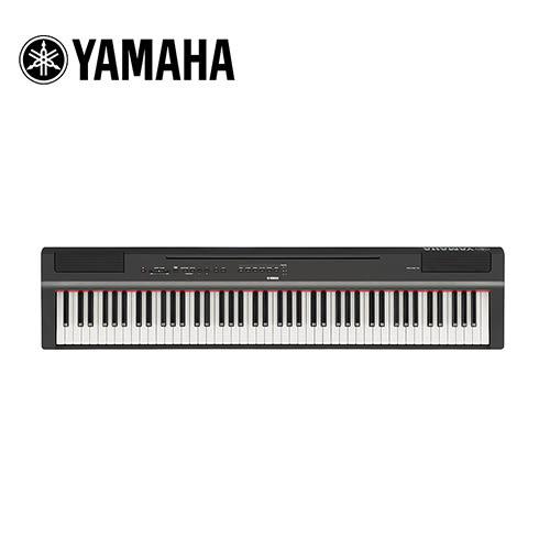 【敦煌樂器】YAMAHA P125B BK 88鍵數位電鋼琴不含琴架組 曜岩黑色款
