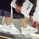 小白鞋 運動鞋 運動鞋女韓版原宿ulzzang百搭秋季新款鞋子ins女鞋小白老爹鞋 99