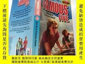 二手書博民逛書店the罕見famous five:著名的 五個Y200392