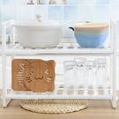 [拉拉百貨]水槽下雙層伸縮置物架 流理臺收納架 鞋架 儲物架 瀝水架 餐具架 廚房 浴室 收納 整理