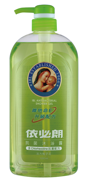 依必朗 抗菌 沐浴露 活力梔子花 1000ml