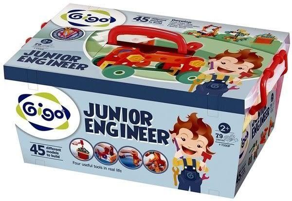 【限宅配】小工程師-交通工具大集合初級版#7330P 智高積木 GIGO 科學玩具 (購潮8)