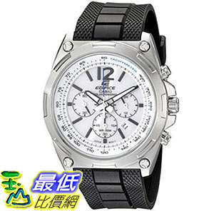 [美國直購] 手錶 Casio Mens EFR-545SB-7BVCF Edifice Tough Solar Chronograph Stainless Steel Watch With Black Resin Band