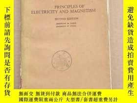 二手書博民逛書店principles罕見of electricity and magnetism(P178)Y173412