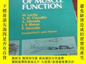 二手書博民逛書店【[Clinical罕見Evaluation of Muscle
