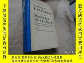 二手書博民逛書店encyclopedia罕見of plant physiolog