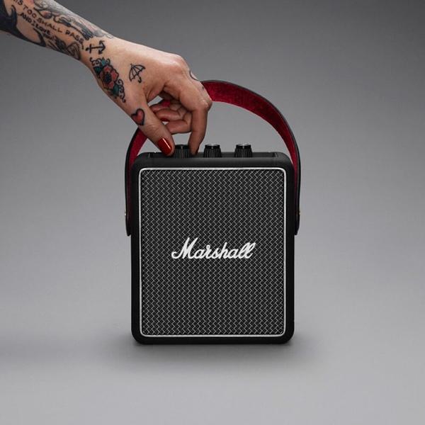 復刻經典 藍牙喇叭 可攜式【Z0108】Marshall Stockwell II攜帶式藍牙喇叭 收納專科ac