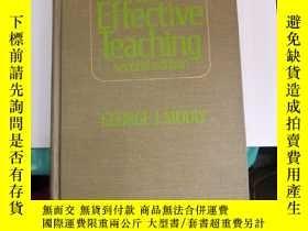 二手書博民逛書店psychology罕見for effective teaching(V036)Y173412 GEORGE