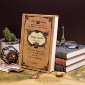 筆記本子記事本大學生文具歐式簡約加厚創意韓國小清新日記本復古 秘密盒子