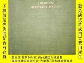 二手書博民逛書店American罕見merchant marine (debater`s handbook series)Y1