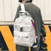 後背包手提背包男兩用韓版潮休閒帆布雙肩包女新款學生書包原宿風電腦包·樂享生活館