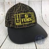 BRAND楓月 FENDI 芬迪 FF LOGO印花造型 棒球帽