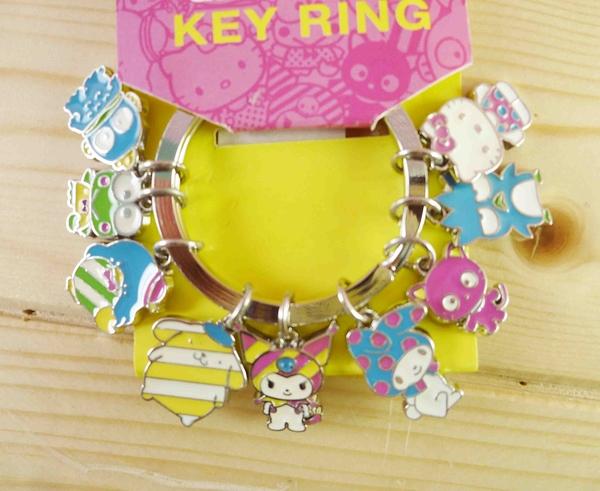 【震撼精品百貨】Hello Kitty 凱蒂貓~KITTY鎖圈-MX霓紅