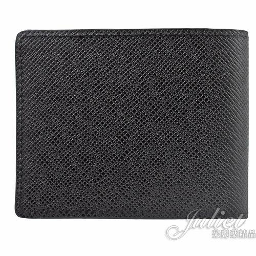 Louis Vuitton LV M30539 Slender 質感全皮革雙折短夾.黑  全新 現貨【茱麗葉精品】