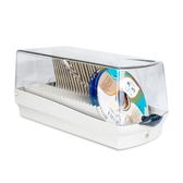 Actto安尚光盤盒CD包大容量DVD光碟盒CD盒碟片收納盒家用帶鎖盒子 小確幸