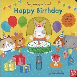 【幼兒操作書/附線上歌曲】HAPPY BIRTHDAY /歌謠拉拉書《主題:歌謠.操作》
