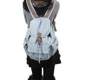熱銷日韓 丹寧 牛仔包 旅行包 書包 電腦包 肩背手提 斜背 女後背包 經典款