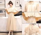 (45 Design) 連衣裙禮服長洋裝短袖洋裝連身裙婚禮洋裝蕾絲洋裝雪紡洋裝套裝長袖洋裝13