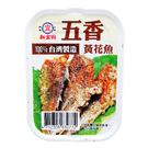 新宜興 五香黃花魚 100公克 易開罐