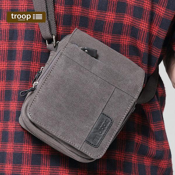 【TROOP】經典品格CLASSIC單肩包/TRP0220BK(黑色)