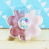 【震撼精品百貨】Hello Kitty 凱蒂貓~2色口紅盤組-藍KT