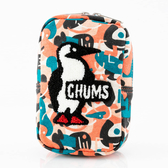 【CHUMS】Vertical Pouch Sweat 收納包 Booby 馬賽克-CH602809Z142