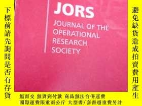 二手書博民逛書店JOURNAL罕見OF OPERATIONAL RESEARCH