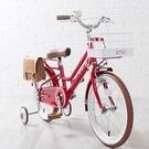 【日本iimo】兒童腳踏車16吋-經典紅...