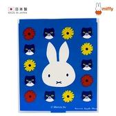 【 日本製 】日本限定 miffy 米菲兔 大臉小花版 鏡子 / 隨身鏡 / 化妝鏡
