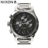 NIXON手錶 原廠總代理 A486-1529 THE 48-20 CHRONO 鋼錶帶 男女 運動潛水 生日情人節禮物