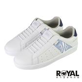 Royal Elastics Icon 白藍色 皮質 套入 運動休閒鞋 女款 NO.J0721【新竹皇家91911-055】