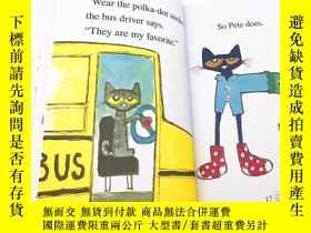 二手書博民逛書店I罕見Can Read Pete the Cat 皮特貓幼兒童英