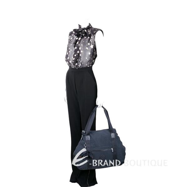 Kipling ART M K13405 輕巧尼龍手提包(深藍色) 1830213-34
