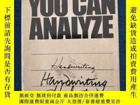 二手書博民逛書店You罕見Can Analyze HandwritingY205