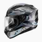 【東門城】SOL SF-6 獨角獸(黑銀) 全罩式安全帽 雙鏡片(預購新品)