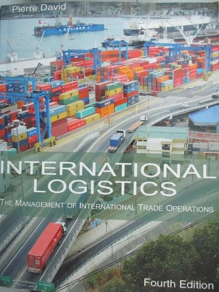 【書寶二手書T8/大學商學_PFP】International logistics : the management o
