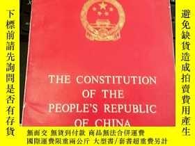 二手書博民逛書店THE罕見CONSTITUTION OF THE PEOPLE