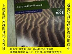 二手書博民逛書店Equity罕見and Fixed Income LEVEL 1