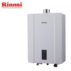 【林內】RUA-C1600WF 強制排氣型16公升熱水器-天然瓦斯