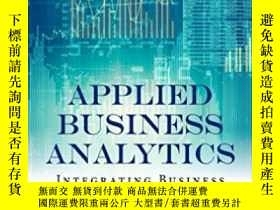二手書博民逛書店Applied罕見Business Analytics: Integrating Business Process