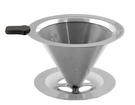 【免濾紙咖啡濾杯】 SUS316 不鏽鋼雙層濾杯 2-4cup SUS316-02