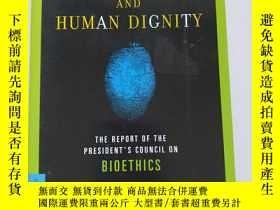 二手書博民逛書店human罕見cloning and human dignity