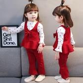 0小童洋氣1女寶寶秋季2女童裝套裝時髦3歲半2019年新款嬰兒童衣服