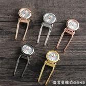 女款掛錶醫用懷錶醫生看時間的錶學生考試胸錶夜光護士秒錶 漾美眉韓衣