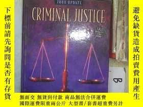 二手書博民逛書店CRIMINAL罕見JUSTICE 2000 UPDATE 刑事